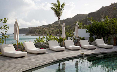 Eden Rock Villa Rental Deck