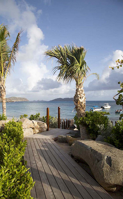 Eden Rock Villa Rental Beach Access 1