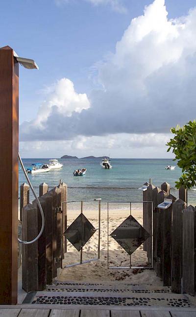 Eden Rock Villa Rental Beach Access
