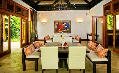 Villa La Laguna Del Mar Dining Room