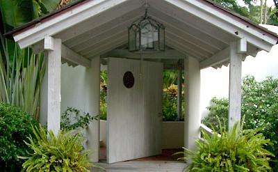 Landmark House Entrance