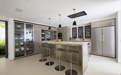 Villa Eden Rock Villa Rental Kitchen Larent Benoit