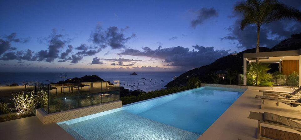 Villa Eden Rock Villa Rental Night Larent Benoit