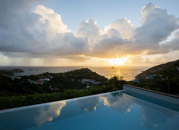 Villa Eden Rock Villa Rental Sunset Larent Benoit