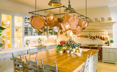 Mas Des Poiriers Kitchen C Oliver Fly Graphy