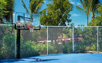 Tennis Court Basketball