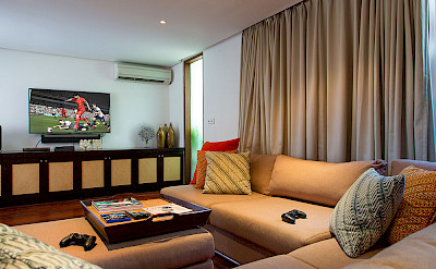 Villa Media Room