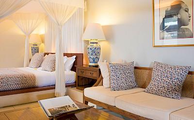 Villa Master Bedroom Sitting Area