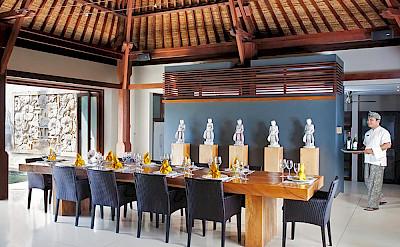 Villa Indoor Dining Area