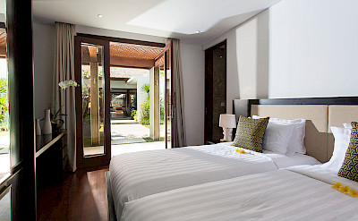 Villa Twin Bedroom View