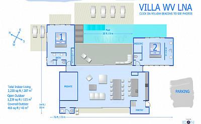 Vacation Rental St Barthelemy WV LNA Villa St Barts Villa Lnaico Desktop