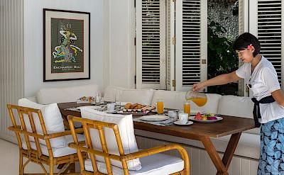 Villa Breakfast At