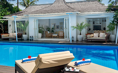 Villa Living And Dining Pavilion