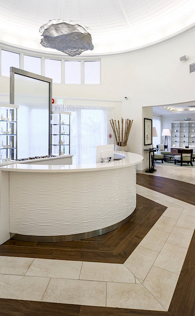 The Spa At Windjammer Landing Reception Web