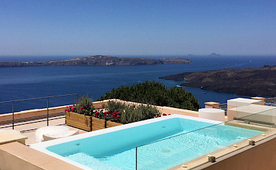 Jacuzzi Santorini Archipel Mansion 1