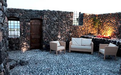 Volcanic Lounge Area