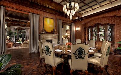 Caesars+Palace Marcus+Aurelius+Villa Dining+Room