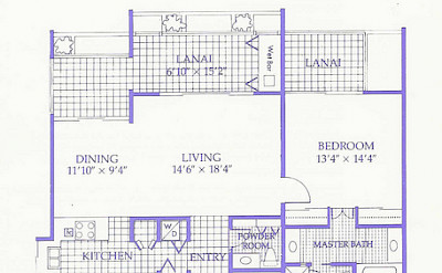 Mlt F Floorplan 2 Bd