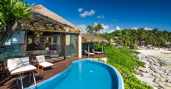 Maya Luxe Riviera Maya Luxury Villas Experiences Tulum Beach 5 Bedrooms Villa 4