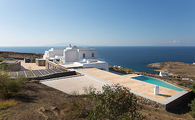 Panoramic Picture Of The Villa