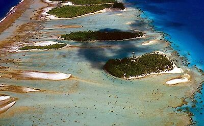 Private Island Aerial View