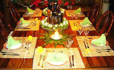 Villa Dining Table Main House
