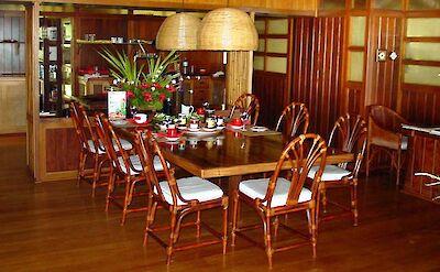 Villa Dining Table Main House 2