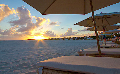 Sheriva Beach Chairs On Maundays Bay Beach
