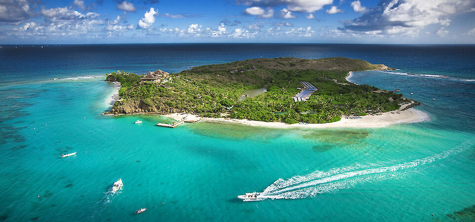 Necker Island Aerial With Boats Medium Res