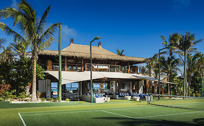 Beach Pavilion Tennis Court