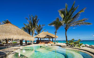 Beach Bar And Hot Tub