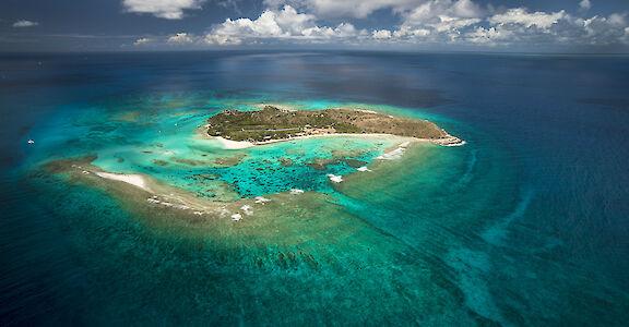Necker Island Aerial