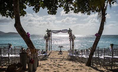 Necker Island Beach Wedding
