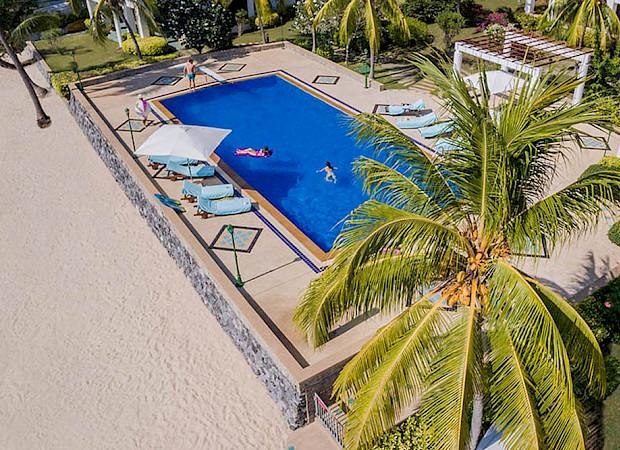 Nirvara Villa Aerial
