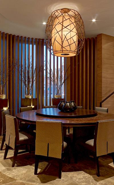 Nobu+Villa Nobu+Hotel+Caesars+Palace Dining+Table