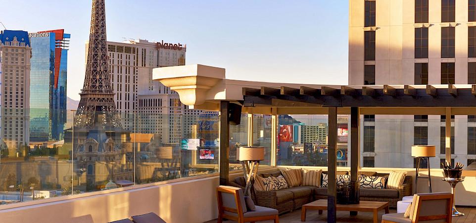 Nobu+Villa Nobu+Hotel+Caesars+Palace Terrace