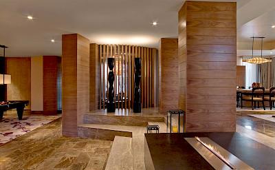 Nobu+Villa Nobu+Hotel+Caesars+Palace Fireplace