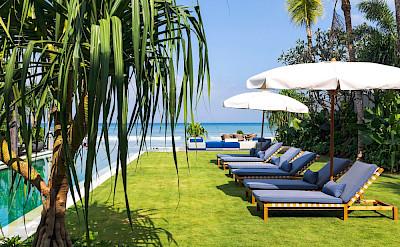 Noku Beach House Swimming Pool And The Sun Loungers