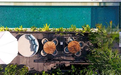 Noku Beach House Pool Overview
