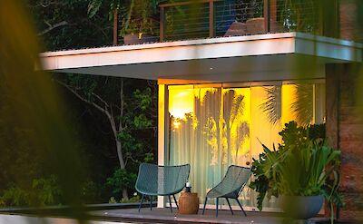 Noku Beach House Guest Bedroom Terrace