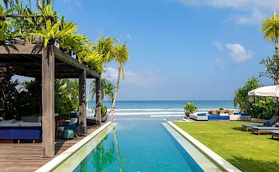 Noku Beach House Swimming Pool With Beach View