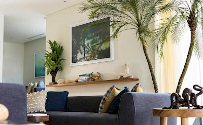 Noku Beach House Living Room Details