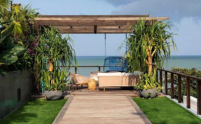 Noku Beach House Pathway To Outdoor Living Area
