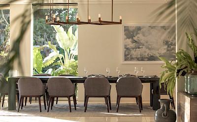 Noku Beach House Modern Dining Area