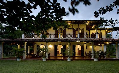 The Villa At Dusk