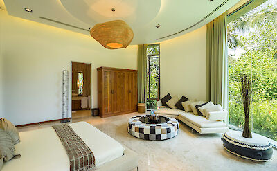 Stunning Master Suite Two Setting