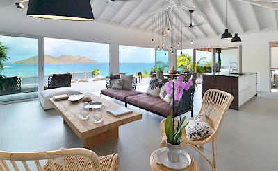 Eden Rock Villa Rental Livingroom