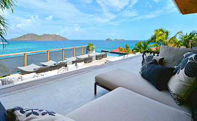 Eden Rock Villa Rental Terrace+% %