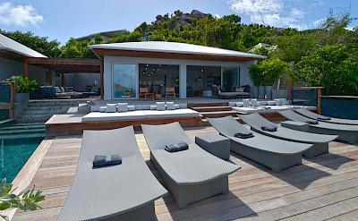 Eden Rock Villa Rental Terrace 2