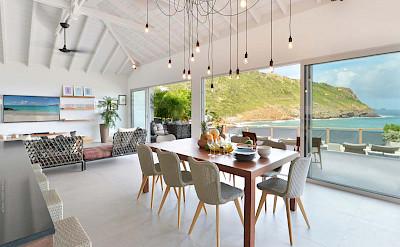 Eden Rock Villa Rental Dining Room